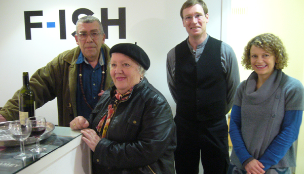 Bill Wyatt, Pauline Suett Barbieri, RJ Dent and Sarah Broome at F-ISH tales