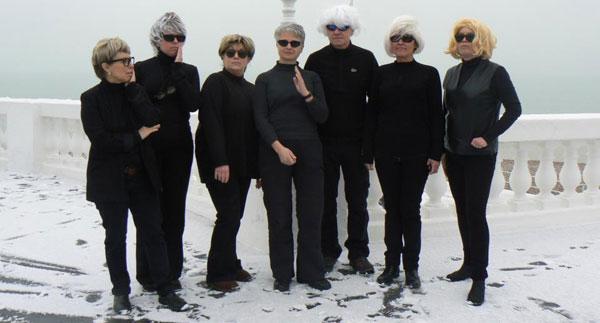 Andy Warhol flash mob at De La Warr Pavilion