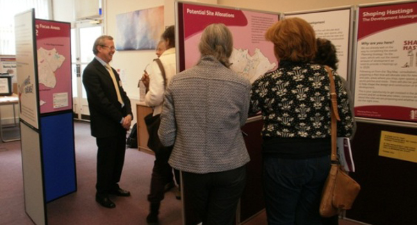 Twenty one members of the public visited the exhibition in central St Leonards