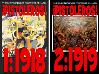Pistoleros 2 volume novel by Stuart Christie