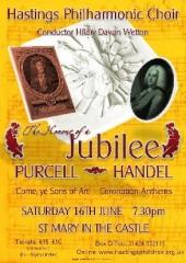 Poster for Hastings Philharmonic Choir Jubilee Concert