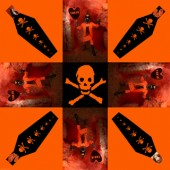 TOXIC-(coffin-skull-cross) by Ben Browton