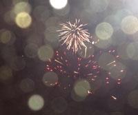 The fireworks © Alex Leadbeater