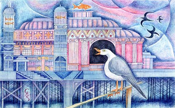 'Pier' © Cathy Simpson