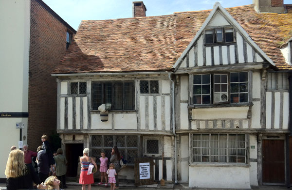 The Restoration Project house in All Saints Street, Hastings Old Town