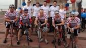 Barcelona Boomerang cyclists