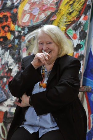 Hastings Online Times Gillian Ayres At The Jerwood Gallery