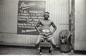Lyndon Deny, Gleason's Gym, NYC, 1980 John Cole