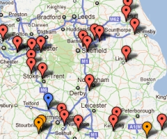 Road Building Map 2012