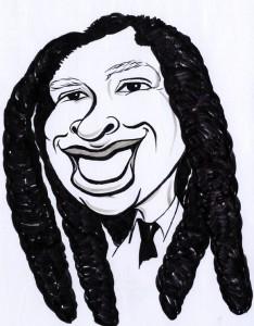 Solomon Curtis caricature