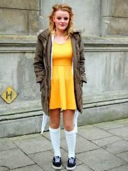 charlie yellow dress