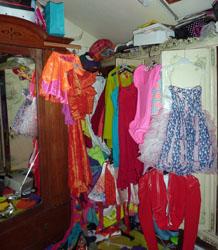 Cherie's wardrobe
