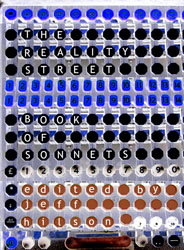 Reality Street Book of Sonnets