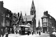 Christ Church, St Leonards on Sea in 19th century courtesy Redfearn Archive