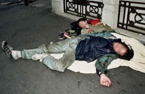 Street drunks