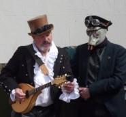 Steam Punk Morris -musician and dancer