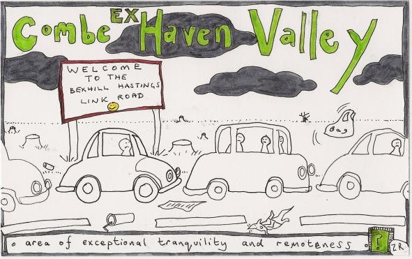 Ex Combe Haven Valley