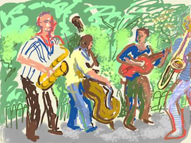 Jazz in the Park - Ben White