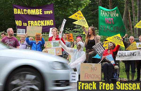 Image courtesy of Frack Free Sussex
