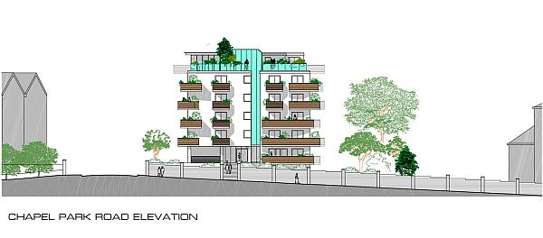 Proposed development, from application