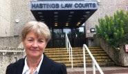 Rosamond at Hastings Law Courts
