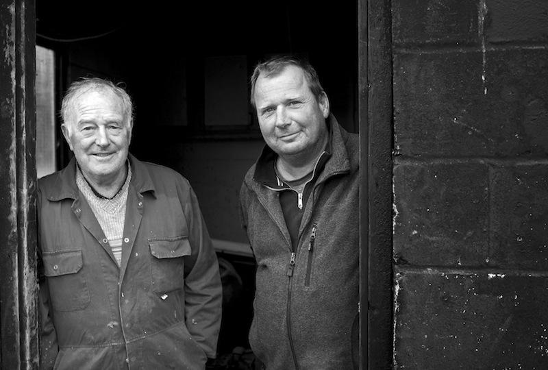 Graham and Darren Goglan © John Cole