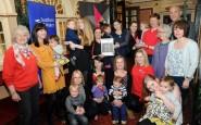 RSPCA Mallydams Wood show off their SPARK award.