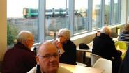 New M&S Cafe at Glyne Gap