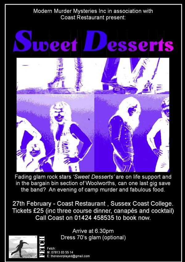 Sweet Desserts Poster