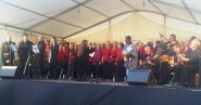 Vocal Explosion wowing the Stade audience last summer.