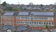Coming soon to a school near us: solar power generation as at Guilford County School in Surrey, a community-funded Wey Valley Solar project (photo: Angus Macintosh).