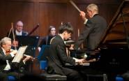 Taek Gi Lee playing Rachmaninov's 3rd Piano Concerto   Photograph: John Cole