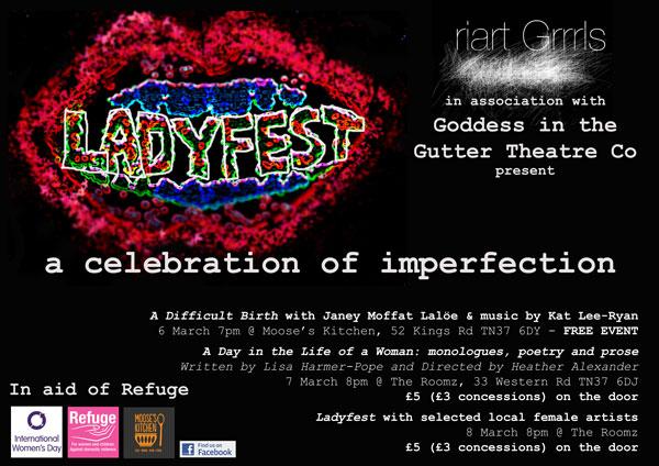 Ladyfest Flyer