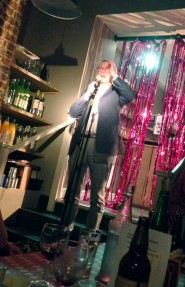 Christopher Dodwell performs at club splendide