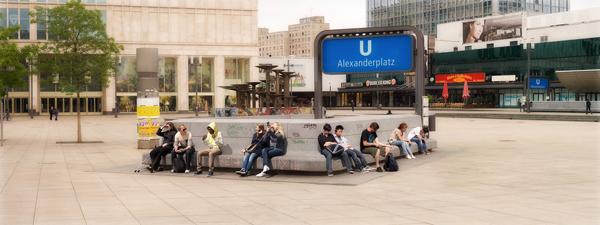 'In this Place' – a photograph of Alexanderplatz Berlin © Allan Grainger