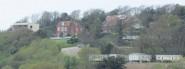 New build above Ecclesbourne Glen (far left)