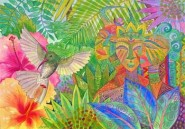 Jennifer Baird: Jungle Spirits and Humming Bird
