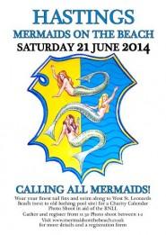 Mermaids on the Beach banner