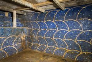 Steam bath mosaics Photo by Brian Rybolt