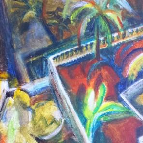 Angie Braven, Tropical garden
