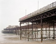 Hastings Pier, East Sussex, 2010' from the series Pierdom © Simon Roberts/ courtesy Flowers Gallery