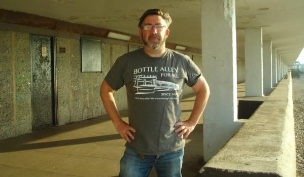 John Knowles in Bottle Alley