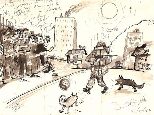 Cartoon by Stuart Griffiths 1994