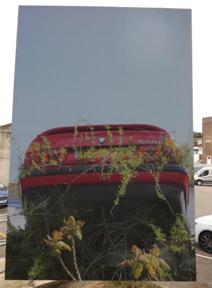 One of Roz Cran's BMWs (Photo by ZR)