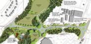 The proposed Queensway Gateway Road between Sedlescombe Road North and Queensway (image: Sea Change Sussex).