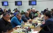 Eyes down at Hastings Internatioanl Chess Congress (photo: Lara Barnes).