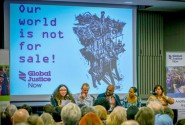 Global Justice Now held a big event to mark its change of name in London last weekend (photo: Global Justice Now).