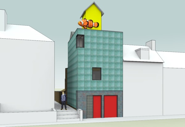 THE FISH HOUSE 130 Bohemia Rd Proposed View By Ken Davis