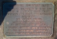 Is Hastings Country Park still the one celebrated in this plaque?