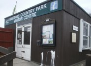 The Hastings Country Park visitor centre which the council plans to replace.
